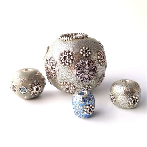 how to make clay jewelry make your own metallic clay allfreejewelrymaking