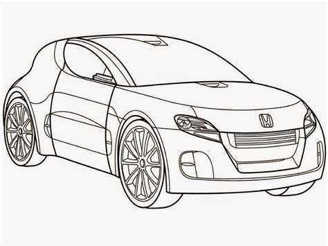 coloring pages honda cars honda car coloring pages