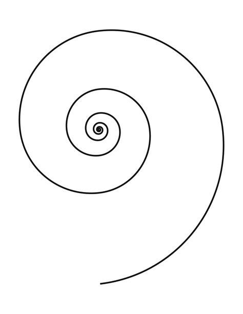 spiral template spirals pinterest