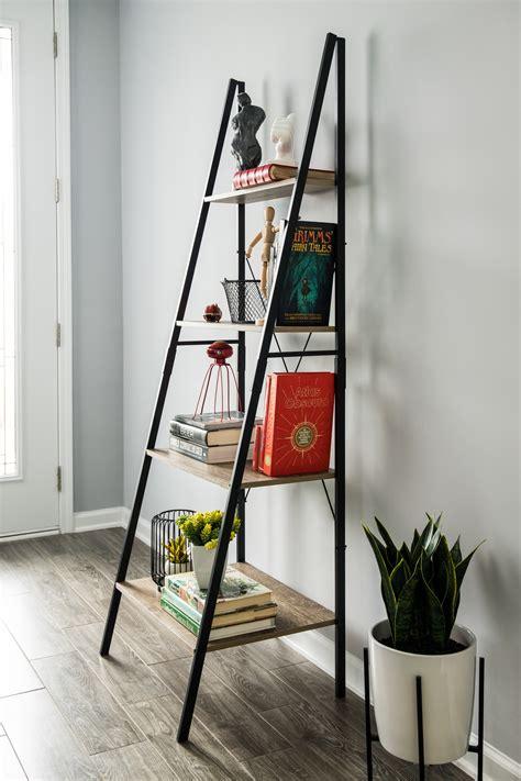 tribeca  frame ladder shelf  traveled living