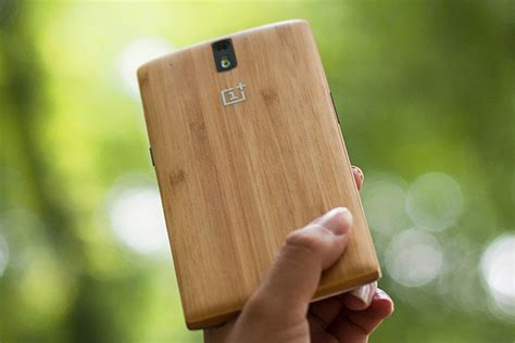 Bamboo Oneplus One oneplus one bamboo styleswap cover unveiled to be
