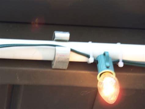 easy way to hang lights easy way to hang lights outside