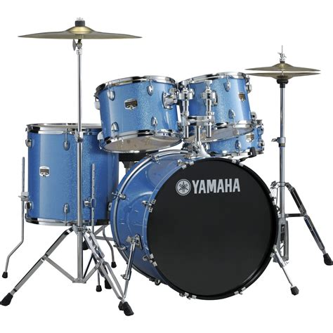 imagenes baterias musicales dw yamaha 20 fusion gigmaker blue sparkle w cymbals