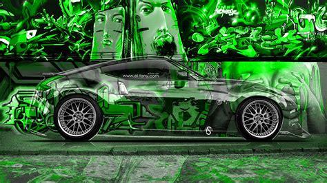 nissan  jdm side crystal graffiti car  el tony