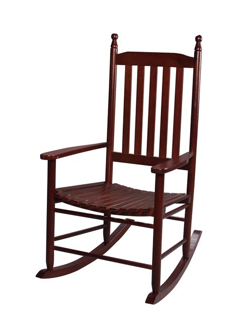Rocking Chair For Adults by Gift 3400c Back Rocking Chair Cherry