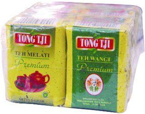 Teh Tong Tji 8 pcs of tongtji teh melati premium 10 gram tong tji tea