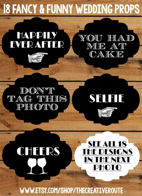 wedding quotes indonesia wedding photo booth props 18 printable signs for a diy