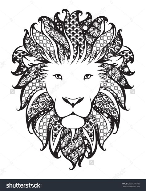 zentangle lion zentangle spiratie pinterest zentangle lion www pixshark com images galleries with