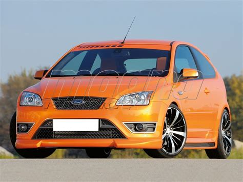 ford focus  st  front bumper extension