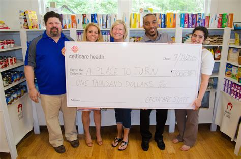 Food Pantry Waltham Ma by Celticare Health Donates Food Funds To Natick Food Pantry