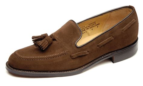 mens loafers with tassels home delicious junction suede tassel loafer loake