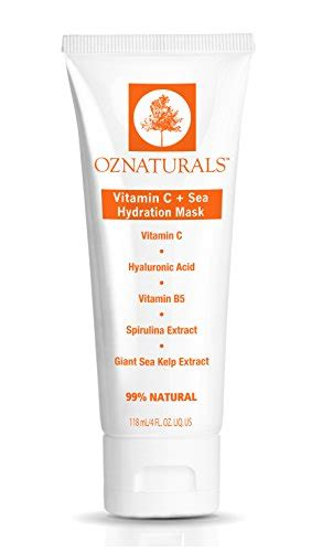 vitamin b hydration oznaturals vitamin c mask hydration mask for