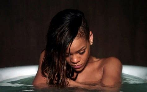 rihanna song in bathtub scenes from rihanna s stay video zimbio