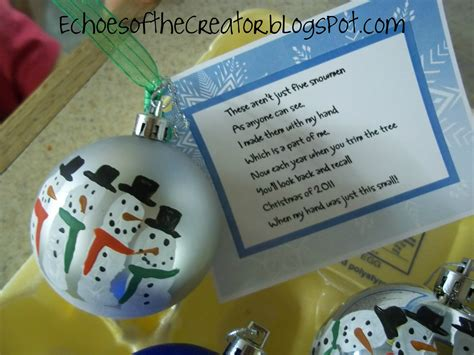 preschool christmas gifts to make echoes of the creator a preschool