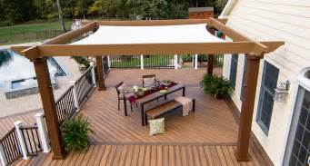 Pergola Sun Shades by Tensioned Shade Sail Pergola Canopy Structureworks