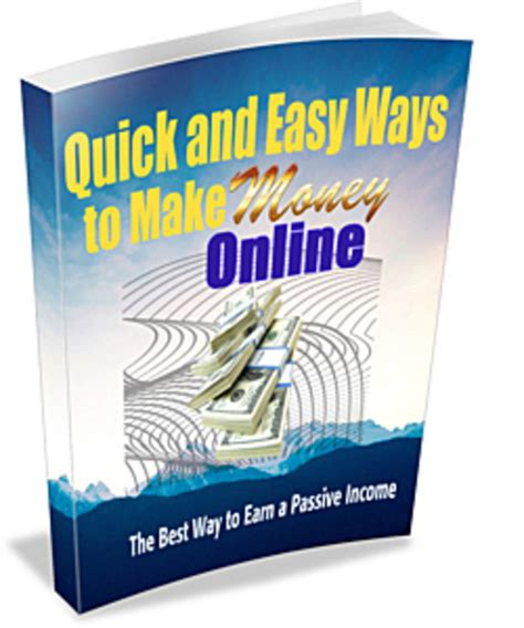 Fast Easy Way To Make Money Online - pay for quick and easy ways to make money online