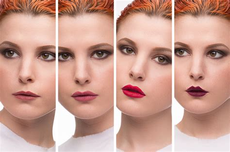 change mouth eyes hairstyle effect how to play with different lip shapes 224 la kevyn aucoin