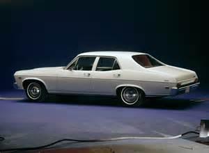 1968 chevrolet chevy ii 4 door sedan