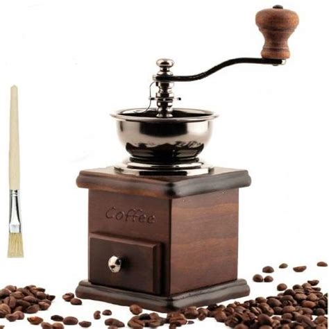Coffee Grinder Tipe Sgc 017 1 Appliances Wooden Manual Coffee Grinder Household Coffee