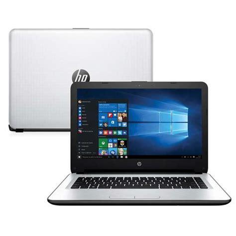 Notebook Hp I3 Murah Hp14 Ac158tu notebook hp 14 ac108br processador intel 174 i3 5005u windows 10 home 4gb hd 500gb