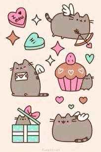 Pusheen chats and papiers peints on pinterest