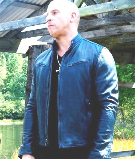 fast and furious zip fast and furious 7 vin diesel navy blue leather
