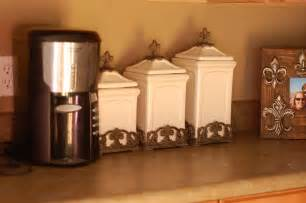 Tuscan Style Kitchen Canisters by Tuscan Canister Set