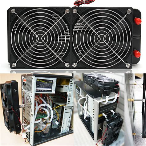 cpu fan for sale g1 4 240mm aluminum computer desktop water fans