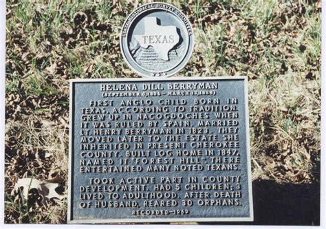 BERRYMAN, HELENA DILL   The Handbook of Texas Online ... Helena Tx History