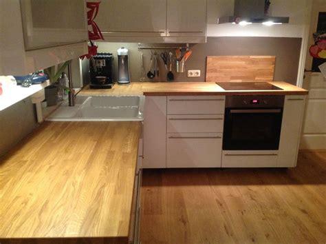ikea küchenarbeitsplatte massivholzplatte k 252 chenarbeitsplatte eiche auch f 252 r ikea