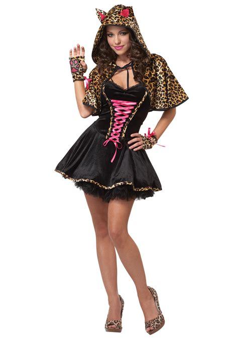 halloween costumes for teen girls teen leopard kitty costume cat costumes for teenage girls