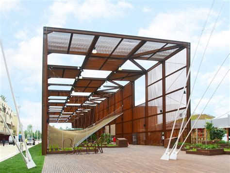 Home Design Expo 2017 Brazil Pavilion At Expo Milan 2015 Is Defined By Tensile