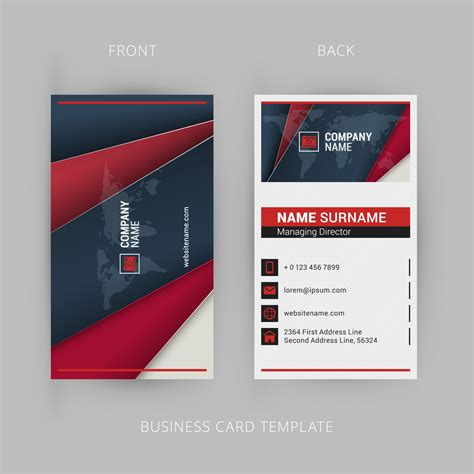 Types Of Business Cards design three different types of business cards in one deal