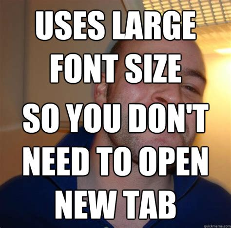 Font Used In Memes - uses large font size so you don t need to open new tab