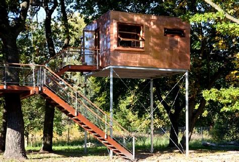 tree house design ideas roughly this is it ladder inside for roof access add roof top railing for look out