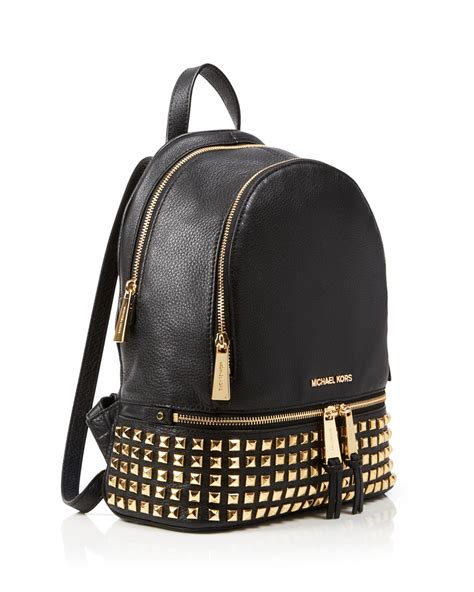 Michael Kors Rhea Backpack lyst michael michael kors backpack bloomingdale s