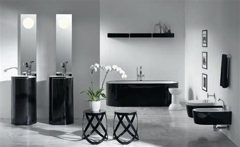 mobili bagno neri le nuove tendenze per un bagno bianco e nero
