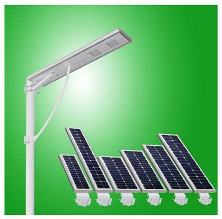 integrated solar light 20w integrated solar led light 40w integrated solar