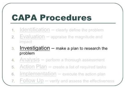 Corrective And Preventative Actions Capa Youtube Capa Template Clinical Research