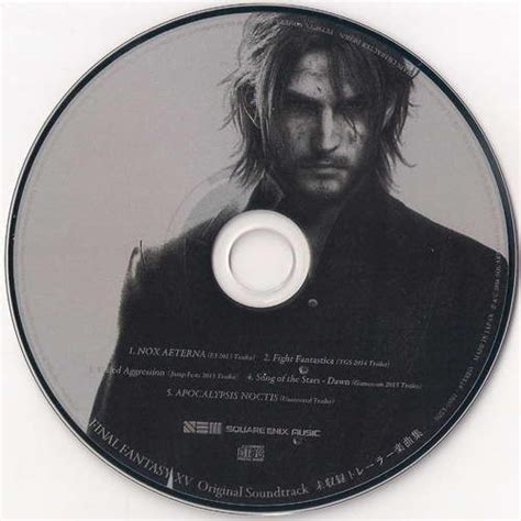 Cd Original You Special Collection For Collector xv original soundtrack unreleased trailer collection ost