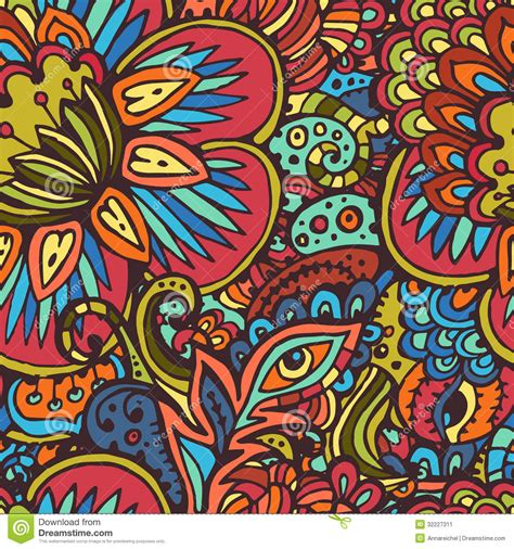 tribal pattern artists tribal seamless pattern stock vector illustration of