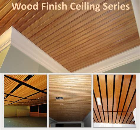 Metacil Ceiling System   Wood Finish , Wood Finish Metal