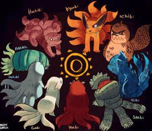 the tailed beasts naruto tailed beasts pinterest
