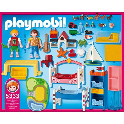 Kinderzimmer Junge Playmobil by Playmobil 5333 Froehliches Kinderzimmer
