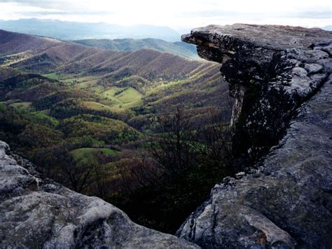 best sections of the appalachian trail mcafee knob is one of the most photographed spots on the