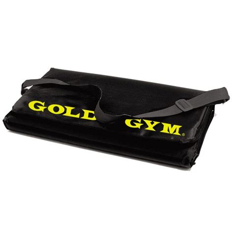 Golds Exercise Mat by Golds Fitness Mat 10mm Thick Large Exercise
