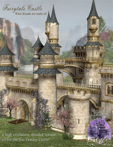 Fairytale Collection fairytale collection fairytale castle textures 3d