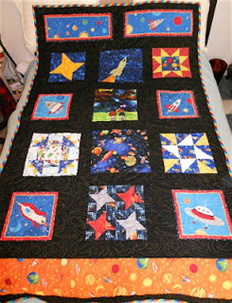 Outer Space Quilt by Handicrafty Outer Space Quilt