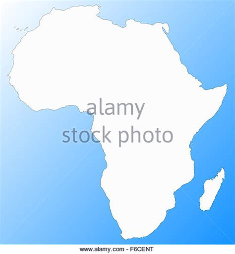 africa map oceans africa map continent stock photos africa