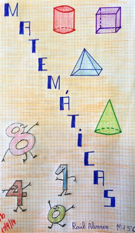 imagenes de matematicas para portada portadas matem 225 ticas 1 170 evaluaci 243 n educaci 243 n primaria